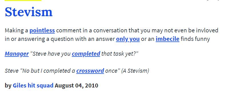Stevism
